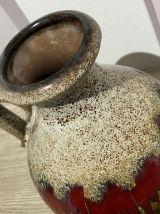 Vase West Germany Scheurich Fat Lava