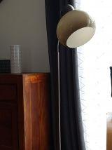 Lampadaire vintage marron design Dijkstra,champignon