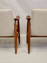 Paire de fauteuils GFM-87 Juliusz Kedziorek 1960.