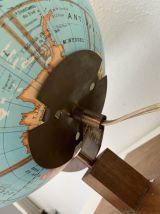 Globe vintage 1960 terrestre Girard Barrère verre - 45 cm