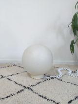Lampe de sol boule Lipa années 70 vintage