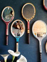 "Miroir ovale raquette tennis ""Adidas Lady"""