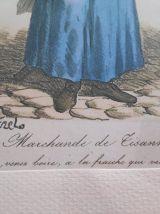 lithographies d'après Carle Vernet encadrées