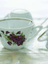 Service à café Porcelaine Deshoulières
