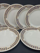"""Assiettes plates """"Maryse"""" - Givors"""