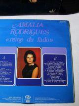 Lot de 2 33 tours Amalia Rodriguez dont un double album.