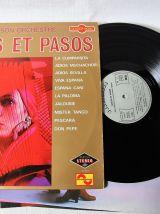 Lot de 4 33 tours tangos et pasos dont 2 doubles albums.