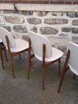 ENsemble 4 chaises Pégase par Pierre Guariche pour Baumann