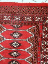 Tapis vintage Pakistanais Lahore fait main, 1C733