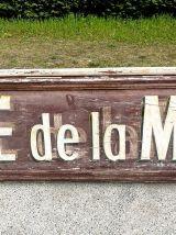 """Enseigne """"Café de la Mairie"""" vintage 50's"""