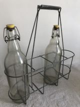 Porte-bouteilles de la cave à la cuisine