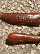 couteau artisanal  avec fourreau