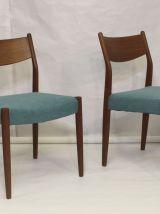 Set de 4 chaises en teck  Cees Braakman pour Pastoe 1960 ent