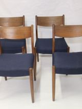Set de 4 chaises en teck  Cees Braakman pour Pastoe 1960.
