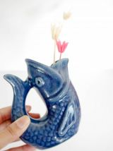 Petit vase poisson