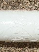pot opaline blanc , vintage