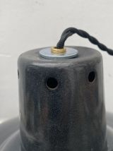 LAMPE INDUSTRIELLE SUSPENSION EMAILLEE35 CM