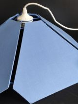 suspension pétales bleus des années 80