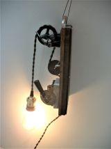 Lampe  Steampunk  / industrielle