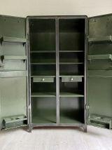 Armoire industrielle vintage 50's