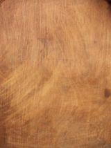 Chaise bistrot Luterma très ancienne bois décapée