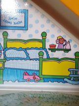 Maison Toboggan des Bidifoufous BIDIBULES BIDIBULE vintage H