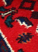 Tapis vintage Persan Hamadan fait main, 1C743