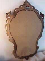 miroir ancien Rocaille