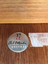 Table basse vintage en teck par Finn Juhl pour France and so