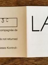 Vase Lalique en cristal dépoli