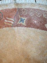 Tapis vintage Tibétain Khaden fait main, 1C746