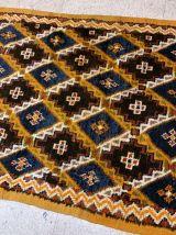 Tapis ancien Marocain Berber fait main, 1B871