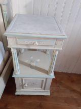 Chambre complète : lit armoire chevet coiffeuse  2 chaises