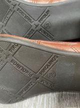 Bottines cuir vintage
