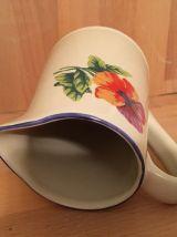 Vase Pichet Vintage Signé GENEVIEVE LETHU 1995