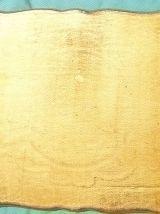 plateau de service florentin  en bois peint , vintage