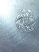 6 moules  en  aluminium  Tournus, vintage