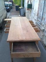 grande table de ferme époque xix eme.