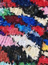 Tapis berbere boucherouite 115×210 cm