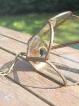 Suspension lanterne, corolle, bronze/laiton, modèle Iris