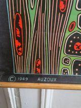 VINTAGE 40' - Affiche scolaire pédagogique- TISSU MUSCULAIRE
