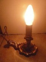lampe  bougeoir , vintage