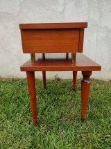 Table de chevet retro
