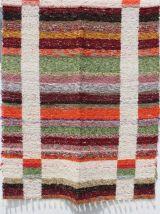 Tapis 170 x 240 cm - Multicolor - Reversible