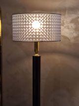 lampadaire moderniste 1970   style de luxe  black et doré 38