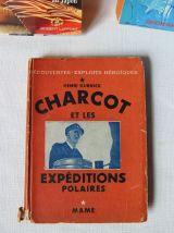 Lot de 3 livres  aventurier(e)s CHARCOT EXP POLAIRES,  AVION