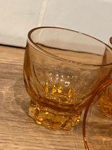 Set de 4 verres vintage