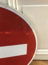 Panneau Sens Interdit Aluminium