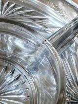 Plateau apéritif, serviteur en métal argenté