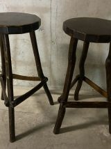 Tabourets de bar rustiques